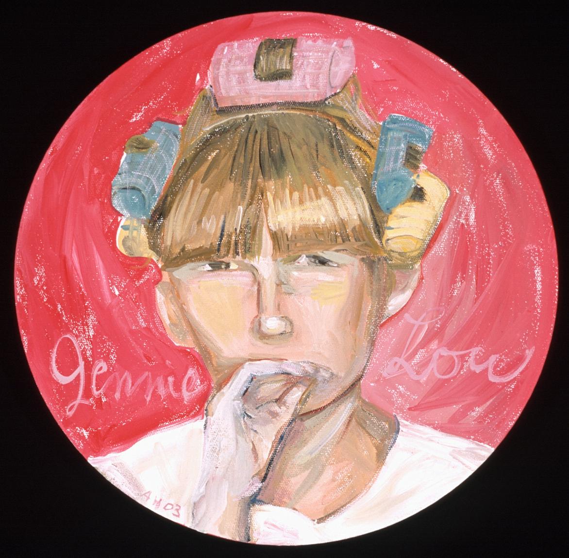 Jennie Lou - Curlers - 1967