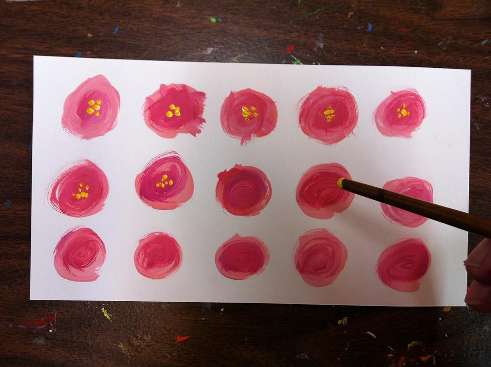 paint flowers 2