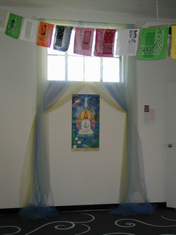 Jesus was a Buddha with flags