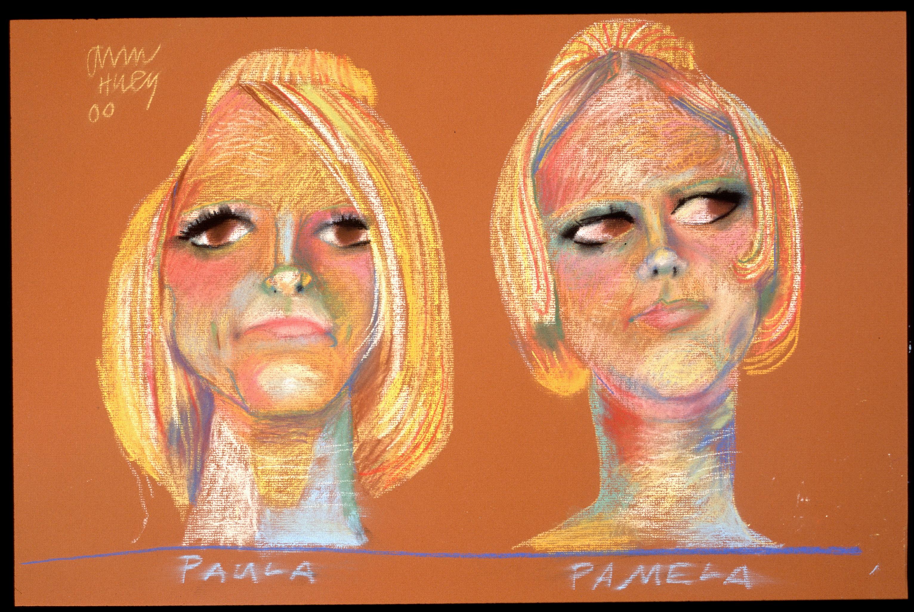 Paula and Pamela - 1967