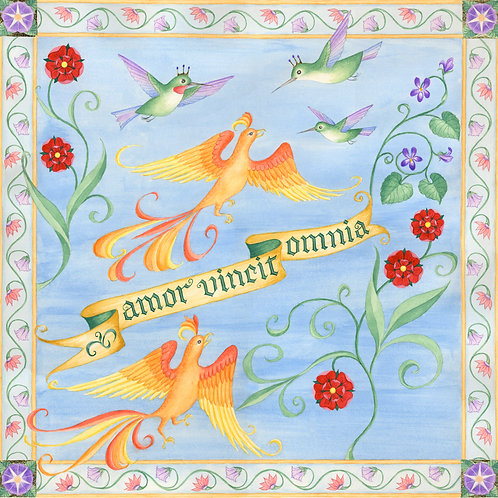 Amor Vincit Omnia Print