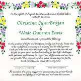 Flowers, floral designs, vines, and herbs