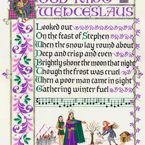 Good King Wenceslaus Christmas Carol