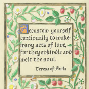 Quote by St. Teresa of Avila