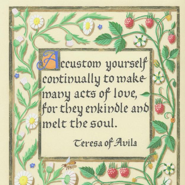 Quote by St. Teresa of Avila