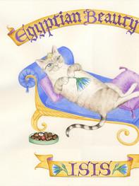 Egyptian Beauty Cat Isis