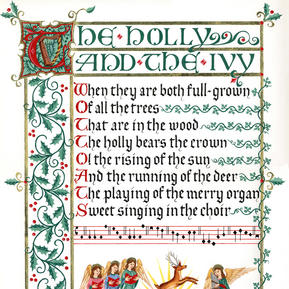 The Holly and the Ivy Christmas Carol