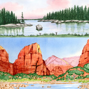 Landscapes, parks, and nature scenes