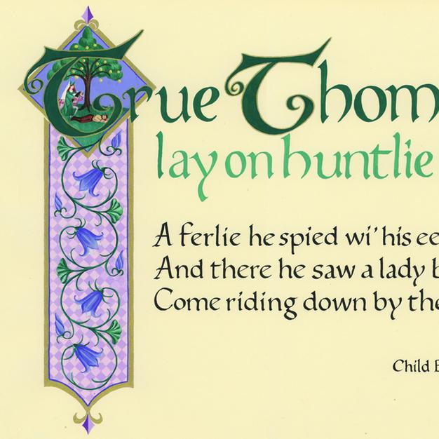 True Thomas Lay on Huntlie Bank