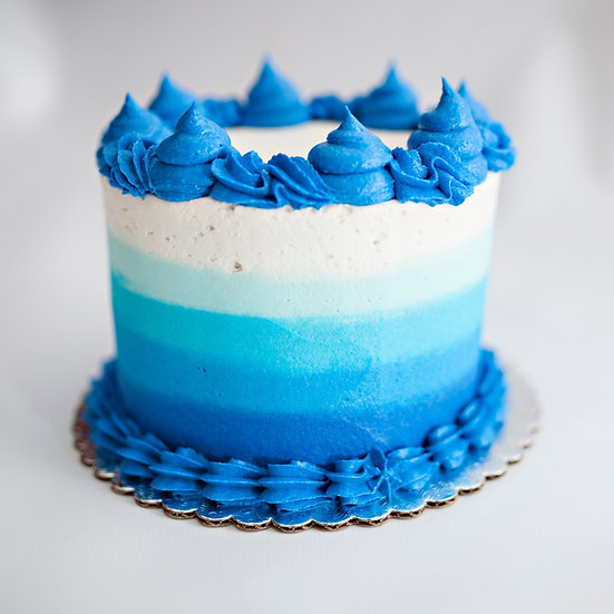 Ombre Buttercream Celebration Cake