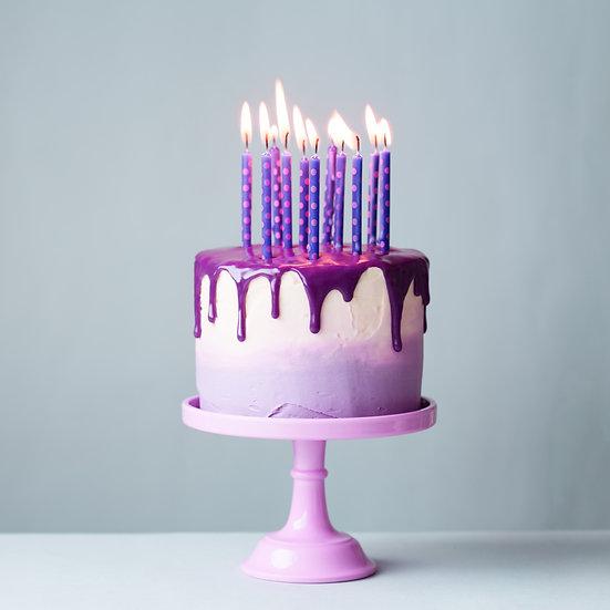 Plain Drip Ombre Cake