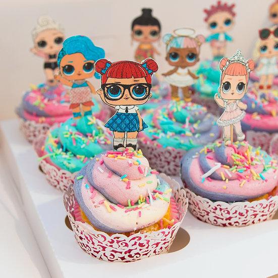 L.O.L Surprise! Cupcakes