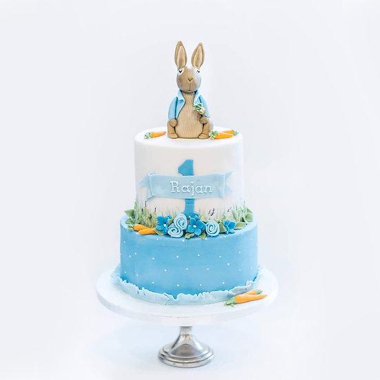 Rabbit Themed Cake