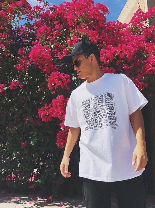 Upside Summer Wave Shirt (white/black)