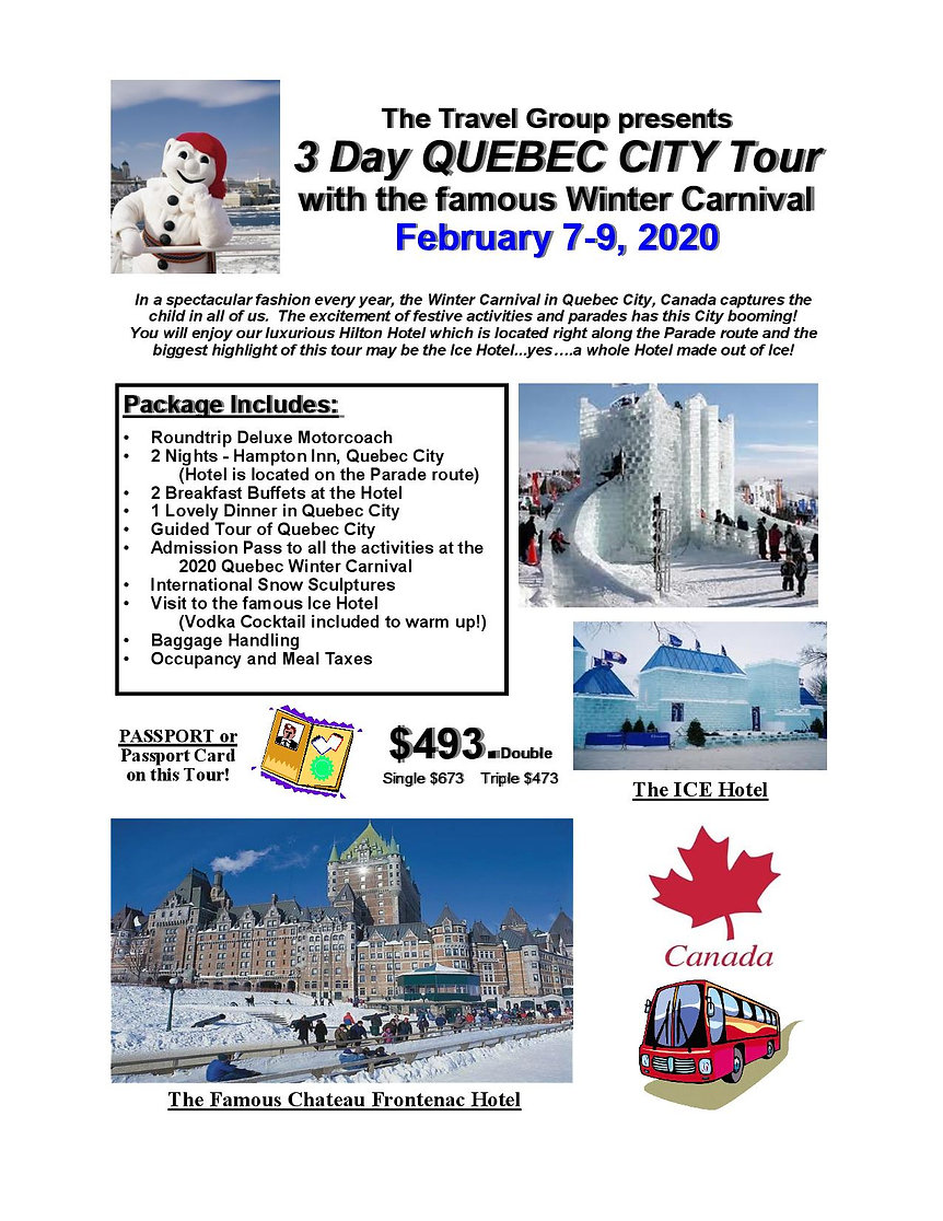 CAT 20  Quebec City Winter Carnival-page