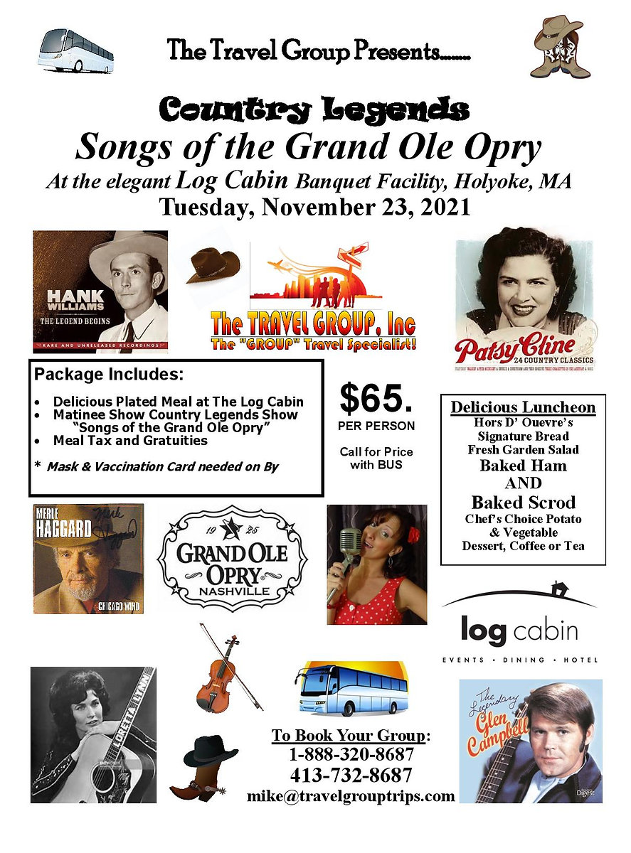 112321 TTG MASTER Songs of the Opry at L