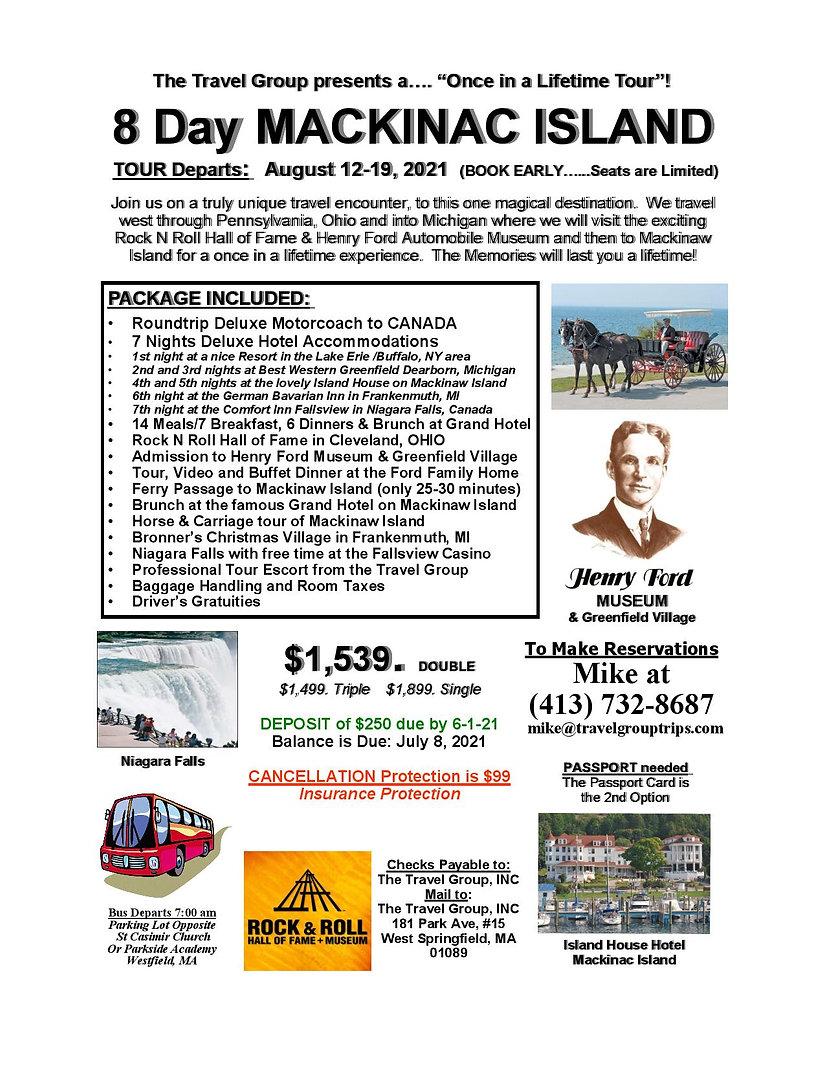 081221 Westfield pick up KW Mackinaw Isl