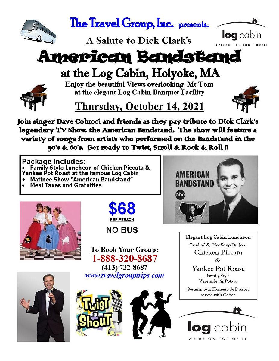 101421 American Bandstand at Log Cabin M