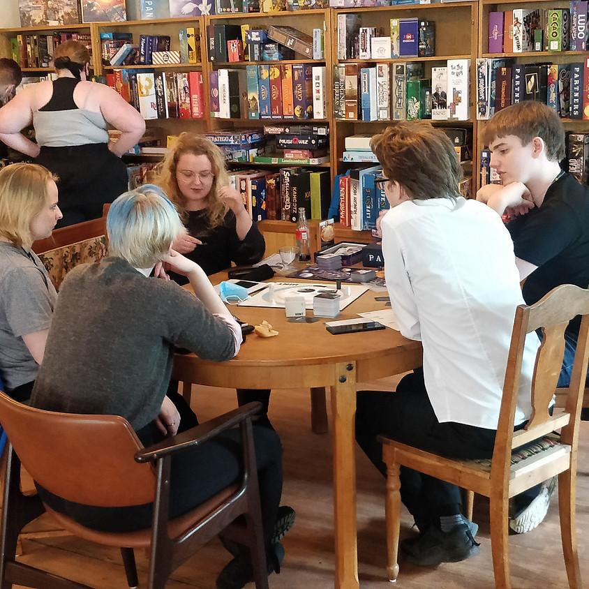 Besøg på Cafe Brætspil