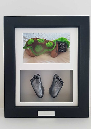 Framed Feet and Photo