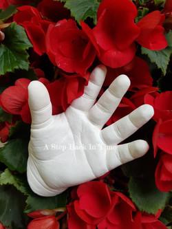3D baby cast hand