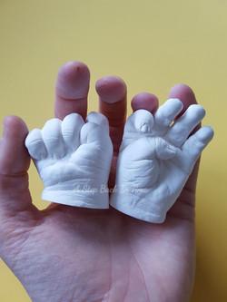 3D baby hands