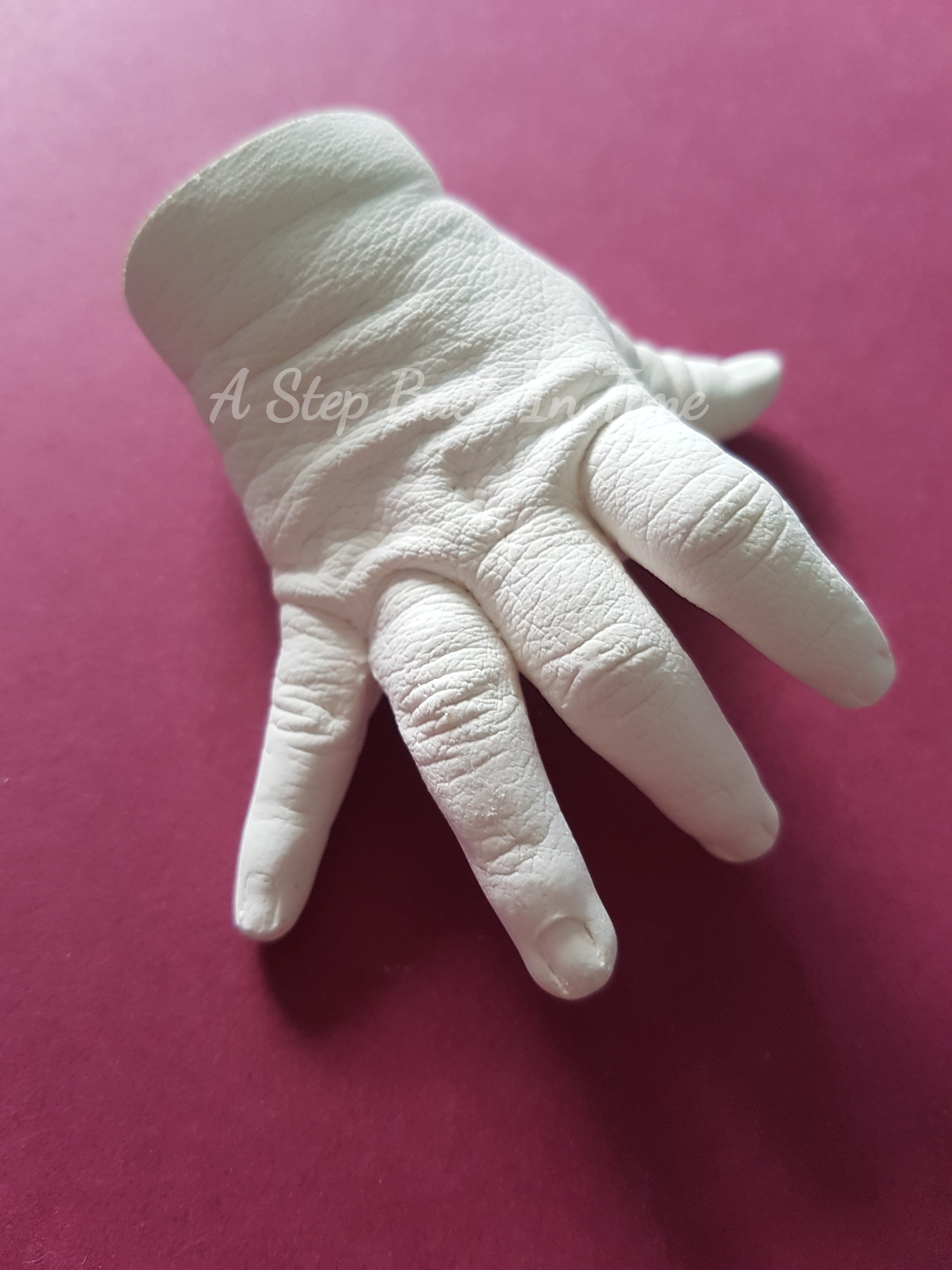 3D Baby Hand Cast