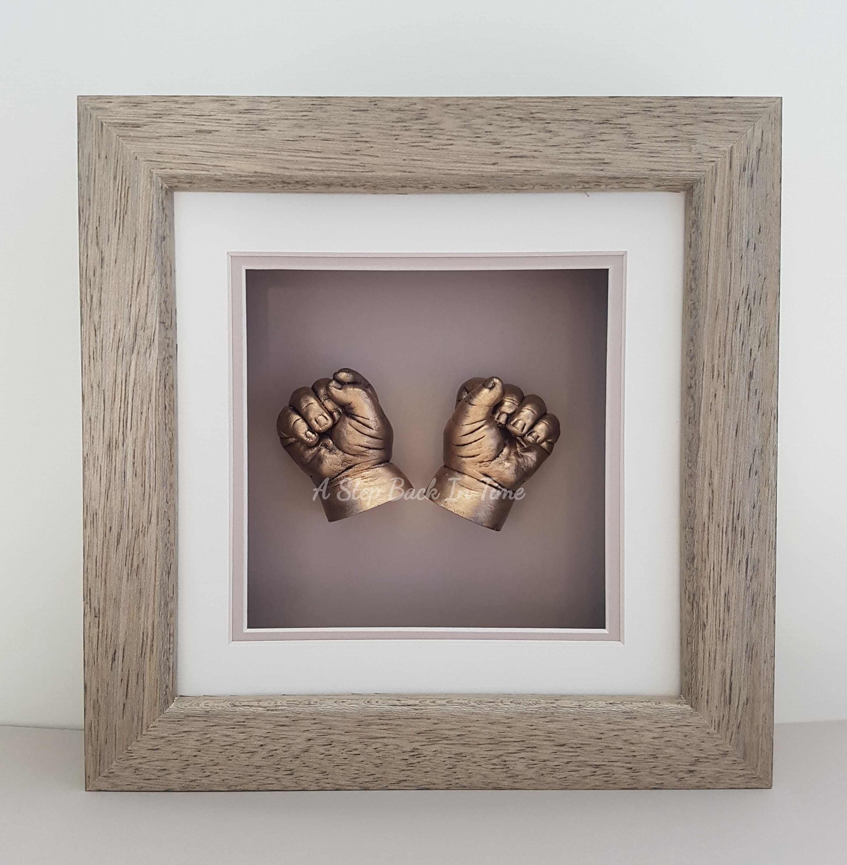 3D baby hands cast