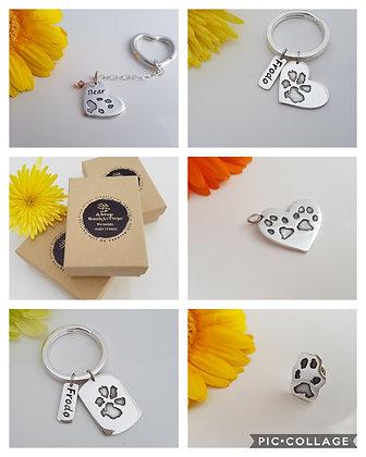 Paw Print Jewellery