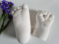 Baby Hand and Foot Cast