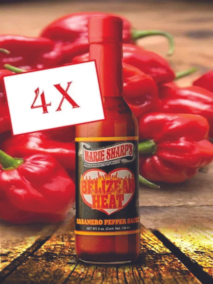 Belizean Heat Habanero Pepper Sauce 50 ml