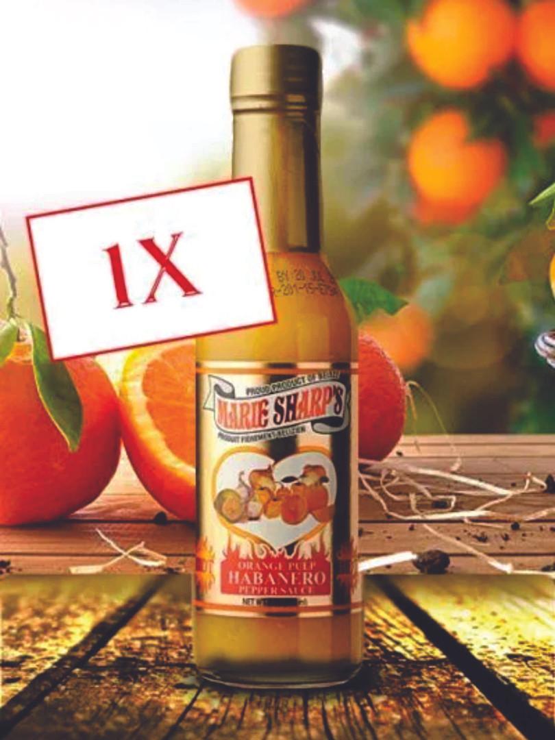 Orange Habanero Pepper Sauce 50 ml