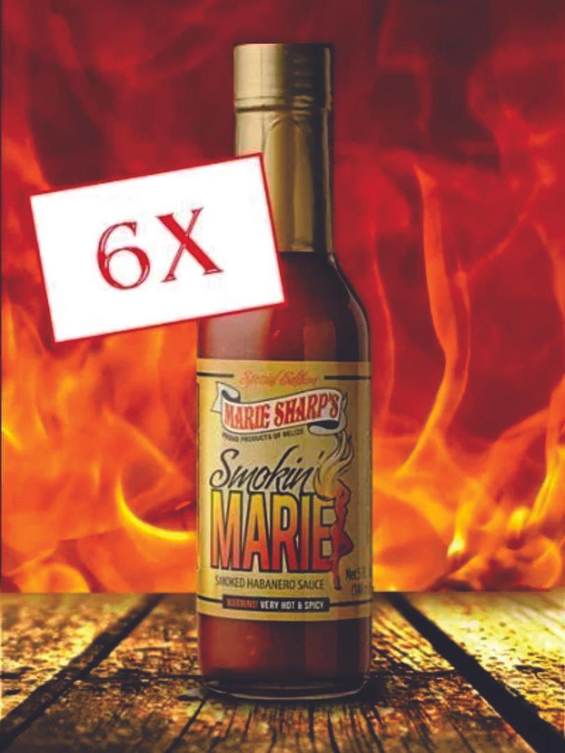 Smokin' Marie's HOT Habanero Pepper Sauce 50 ml