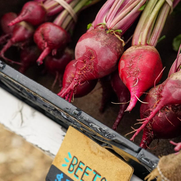 Beets at the Farm Stand