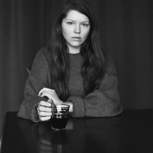 """Photographer: Paul van Bueren  Model: Annelieke Joosten Cambo SC-1 Fomapan 400  4x5"""""""