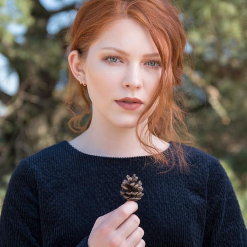 Photographer: Chantel van den Broek   Daniëlla van Lienden Makeup: Ismi Halac Model: Annelieke Joosten