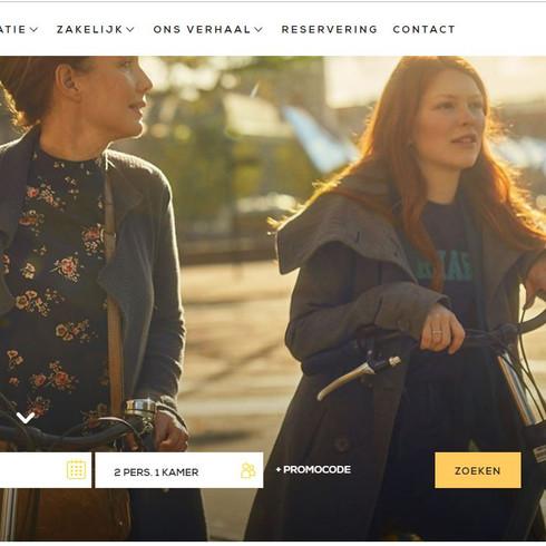 Eden Hotels Website