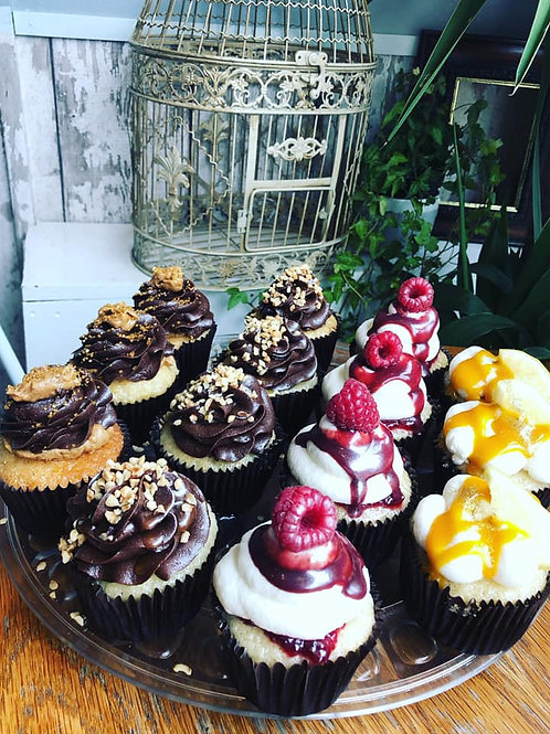 Box of 6 Vegan Cupcakes