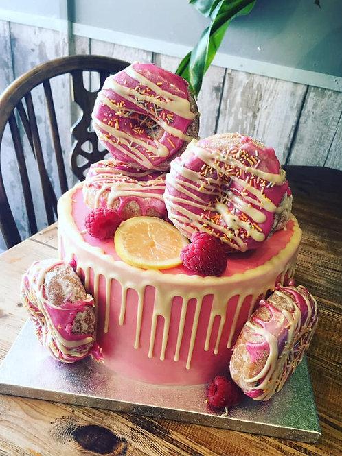 Vegan Doughnut Cake Class