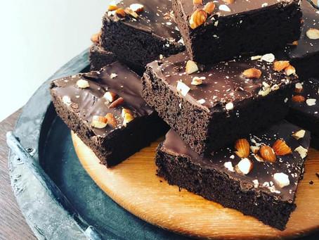 Vegan High Protein Brownies (glutenfree)