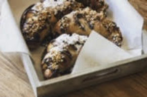 Vegan Chocolate Hazelnut Croissant