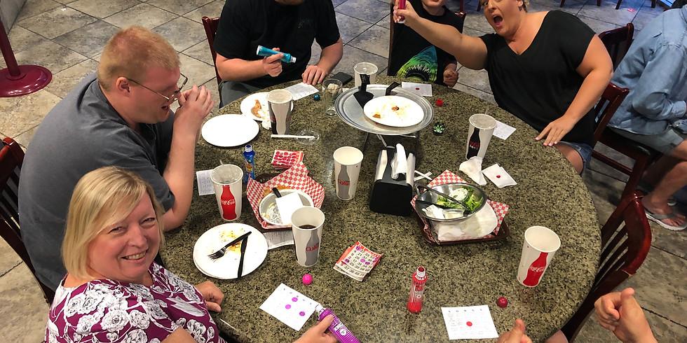Bingo at First Class Pizza-Riverside, CA