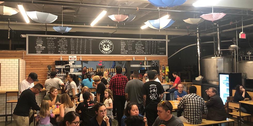 Bingo at Ogopogo Brewing-San Gabriel, CA