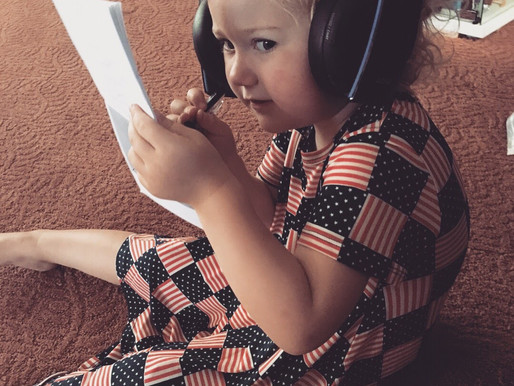 My 3 Year Old Podcaster