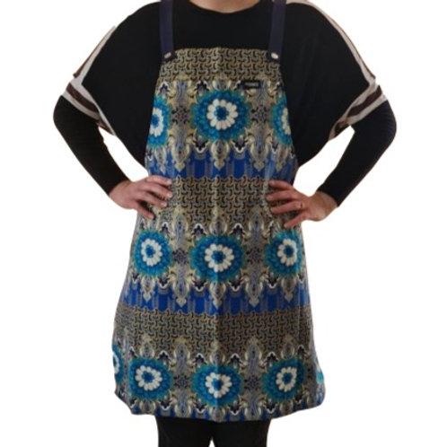 Batikprint Schort (Blauwe)