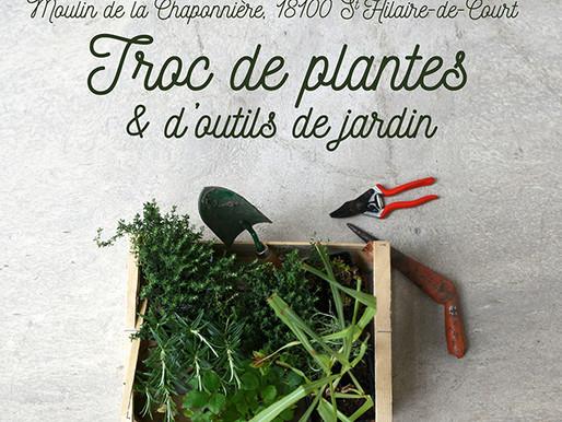 Troc de plantes organisé à La Chaponnière
