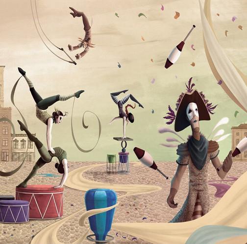 Illustration Integration of Carnival