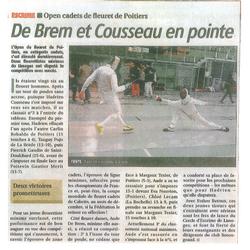 Open cadet de Poitiers 2014
