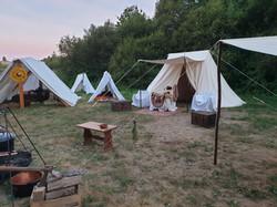 Campement des Légendes de Gustou