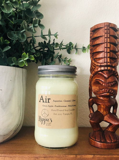 Air Zodiac Candle